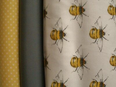 100% cotton Bumble Bee fabric.*BACK IN STOCK*.various bundle sizes. HIGH QUALITY