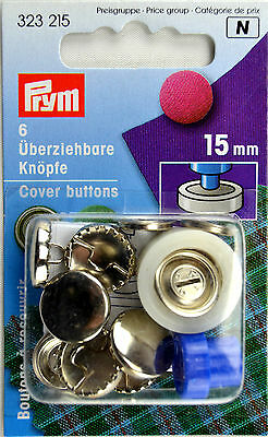 Cover Buttons 15 mm from Prym 323 215