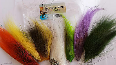 LOT of 6 piece DEER TAIL COMBO PACK