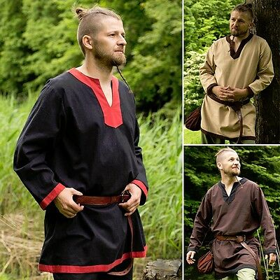 Medieval Tunic - 3 Colours - Perfect For LARP Or Re-Enactment / Costume