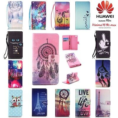 Coque Etui Housse Porte cartes XXL Color Wallet Case Cover HUAWEI P8 Lite 2016