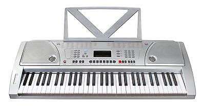 Kirstein Synthetiseur Portable 61 Touches E-Piano Clavier Numerique Lcd 100 Sons