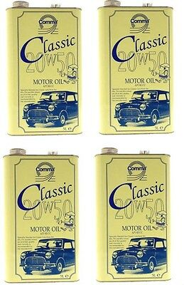 Comma Classic 20W50 Engine Oil 4X5Litre Cans
