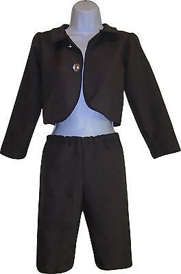 Used Girls Grey Trouser & Jacket Set Age 9 Years (E.A)