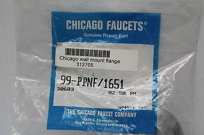 Chicago Faucets 99-PPNF Chrome Flange New