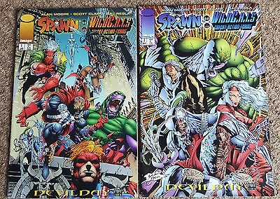 Spawn Wild C.A.T.S Wildcats - Image Comics - Issues #1 and #3