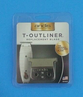 Andis T-Outliner / Gtx Trimmer Replacement Blade 04521 - Professional Hair Gto