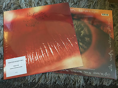 The Cure - Kiss Me Sealed Vinyl LP Just Like Heaven Catch Hot Why Can't I Be You