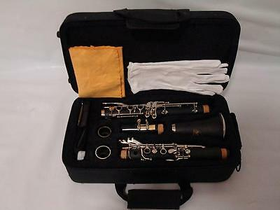 Pro Black Bb Clarinet, Approved, Warranty and Case Brand New