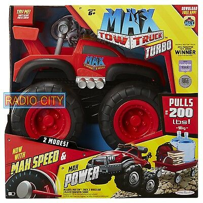 Max Tow Truck Turbo now with Max Speed and Max Power, Red