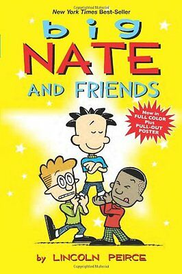 Big Nate and Friends New Paperback Book Lincoln Peirce