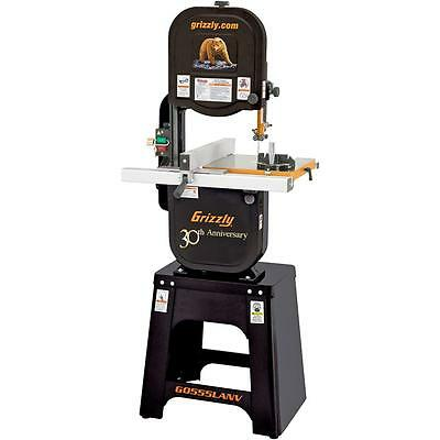 """G0555LANV Grizzly 14"""" Deluxe Bandsaw - Anniversary Edition"""