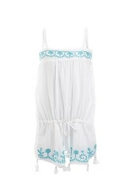 Melissa Odabash Kids Baby Eisha White Playsuit Romper 2 Years