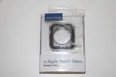 Insignia Bumper Case for Apple Watch 38mm NS-AWBC38G2 - Space Gray