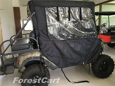 Black Enclosure Cover for Bad Boy Buggies Classic High Quality Rolled Up Screen