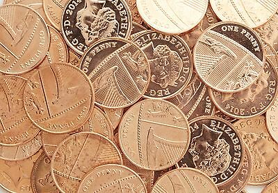 British One Pence Coins - 1p - UK Choose Your Year