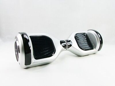Self Balance Scooter E-Board V2 6,5 Inches with Bluetooth Silver Samsung Battery