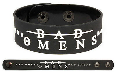 BAD OMENS Rubber Bracelet Wristband The Worst in Me The Fountain