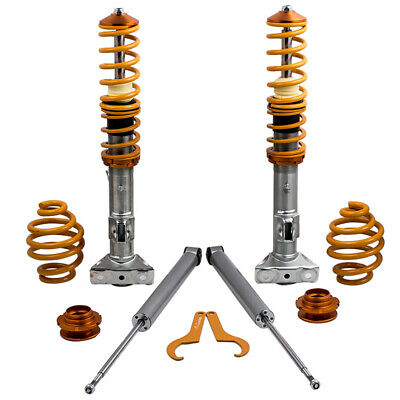 For BMW Series 3 E36 Coupe Saloon Coilover ADJUSTABLE SUSPENSION Lowering KIT