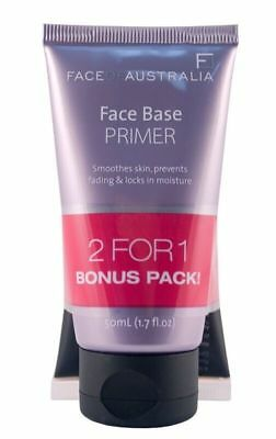 Face Of Australia, SET Lasting Looks Foundation & FREE Face Base Primer-Oil Free