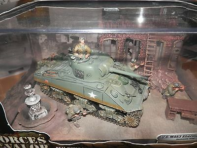 Forces Of Valor 1:32 Us M4A3 Sherman Tank Normandy 1944