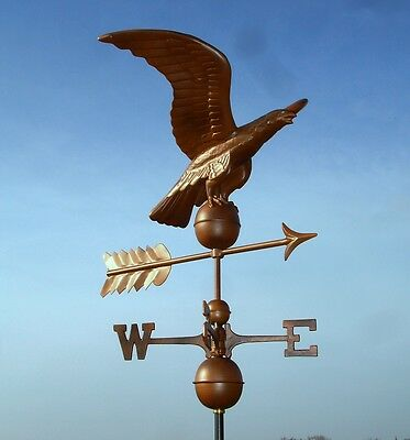 Large Eagle Bronze Effect Weathervane
