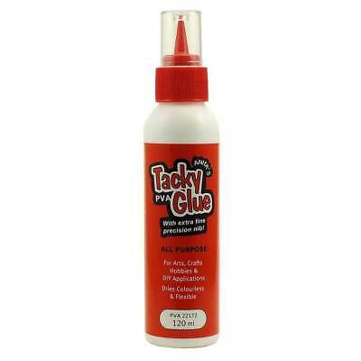 Anita's Tacky PVA Glue (Dries Clear and Flexible) - 120ml