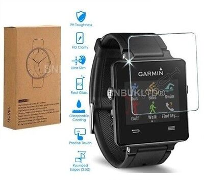 2 X Tempered Glass Screen Protector for Garmin VivoActive Smart Watch