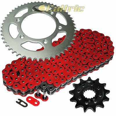 Red O-Ring Drive Chain & Sprocket Kit Fits HONDA CRF450X 2005-2016