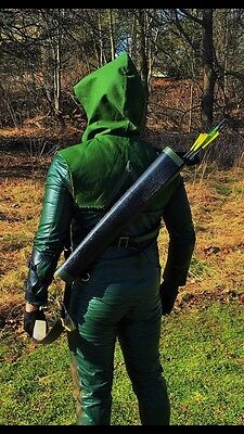 Green Arrow Season Quiver And 10 Arrow set