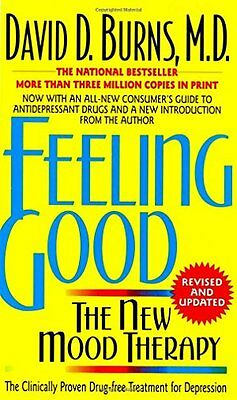 Feeling Good: The New Mood Therapy New Paperback Book David D. Burns