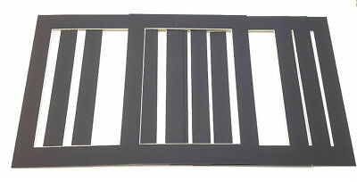 Black Picture Frame Mounts Photo Mounts Various Sizing And Packs Bevel Cut Mount