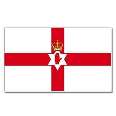 Free Delivery- NEW Northern Ireland Red Hand of Ulster Flag 5x3