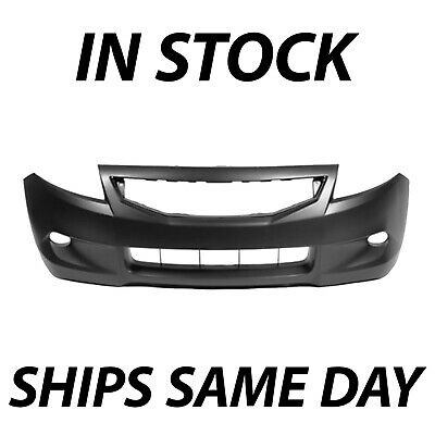 NEW Primered - Front Bumper Cover Fascia for 2008-2010 Honda Accord Coupe 2 Door
