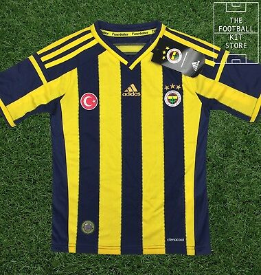 Fenerbahce Home Shirt - Official Adidas Football Turkish Shirt  - Boys