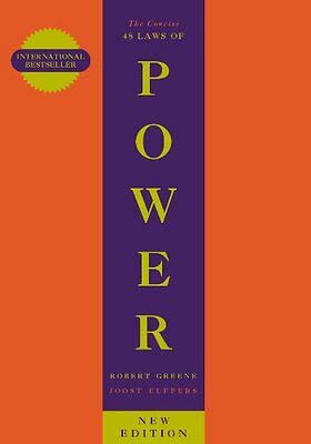 Concise 48 Laws of Power New Paperback Book Robert Greene