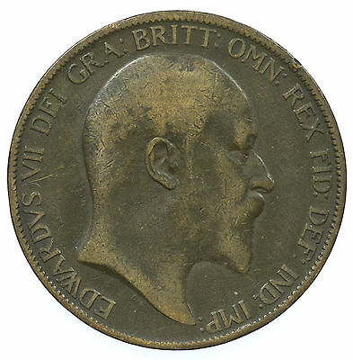 Great Britain, Edward Vii Penny, 1903