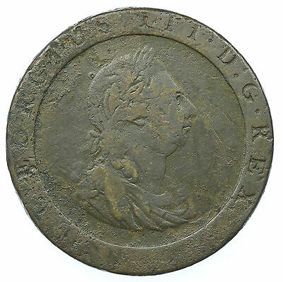 Great Britain, George Iii Penny, Cartwheel, 1797