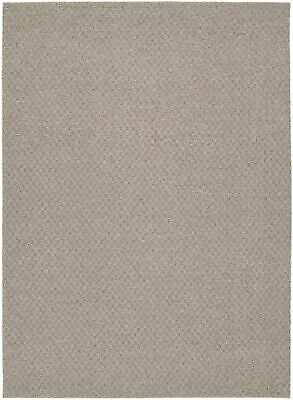 New Garland Rug Town Square Area Rug, 7-Feet 6-Inch by 9-Feet 6-Inch, Pecan