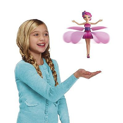 Flying Fairy Flutterbye Flower Fairy Doll Girls Interactive Toy Perfect Gift NEW