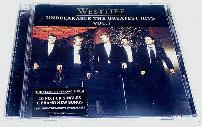 Westlife - Unbreakable The Greatest Hits Vol. 1 (2002) CD Album