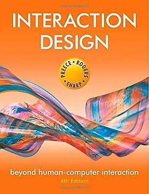 Interaction Design: Beyond Human-Computer Interaction New Paperback Book Jenny P