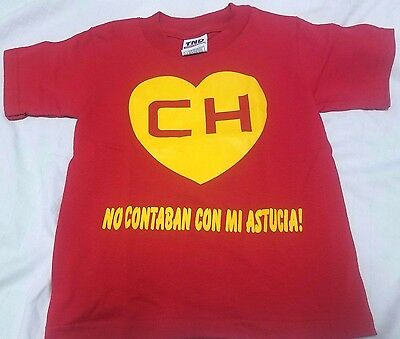 El Chapulin Colorado Shirt Kids ( El Chavo )