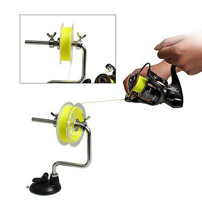 Fishing Line Winder Reel Spool System Fishing Tackle Tools Portable Gear 1PC
