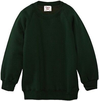 (TG. C36 IN- UK) Charles Kirk Coolflow - Felpa, colletto tondo, , unisex, Verde