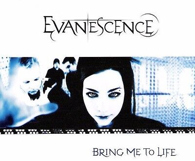 Evanescence Bring Me To Life Aust. CD Single Amy Lee Bliss Mix Daredevil Fallen