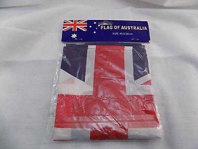 "NEW IN PACKAGE FLAG OF AUSTRALIA 45 CM x 90 CM 17""x 35"" MINI DECORATION ST20"