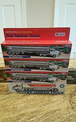 1993 EXXON Mobil Toy Tanker Truck ~ Rely On The Tiger Collectors Series 3 mobil