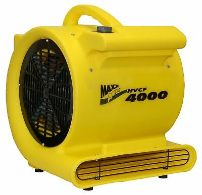 Brand New MAXXAIR HVCF4000 4000 CFM High Heavy-duty Carpet and Floor Drying Fan