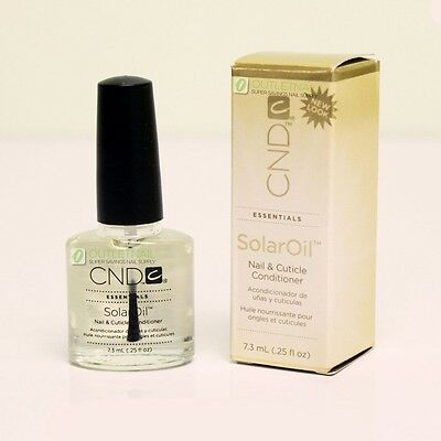 CND Solar Oil 0.25 oz/7.3ml - Nail & Cuticle Conditioner SolarOil
